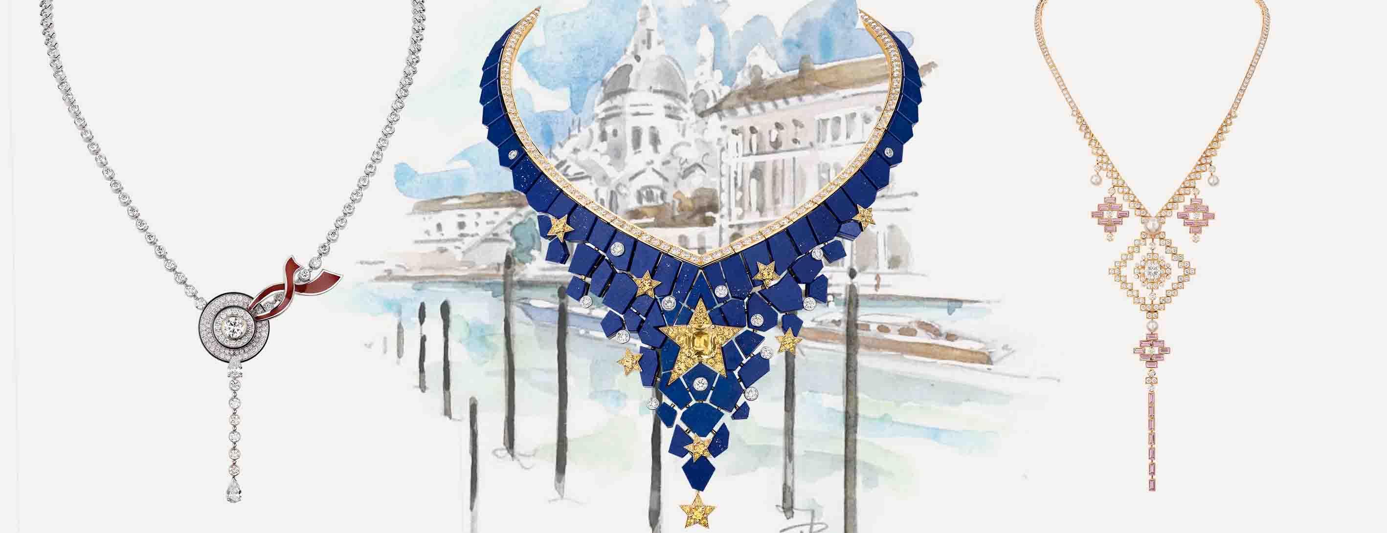 Chanel Escale à Venise high jewellery collection