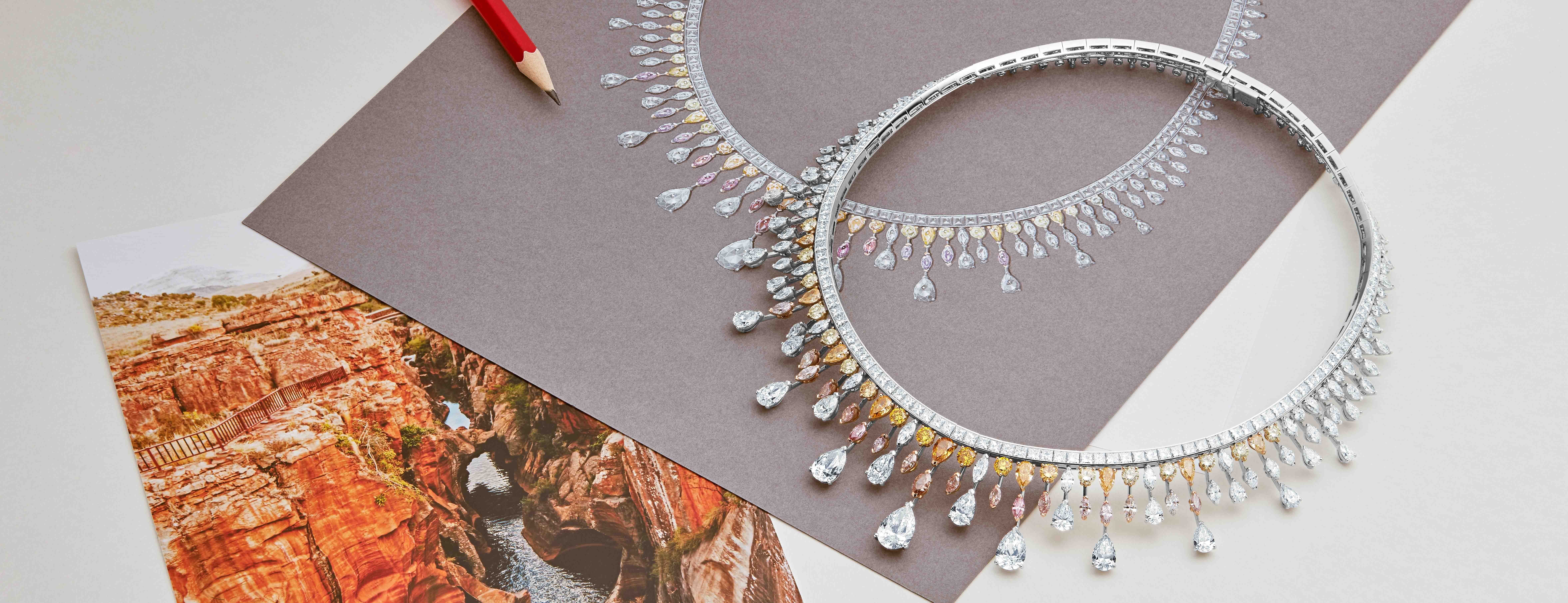 De Beers Reflections of Nature high jewellery diamond collection
