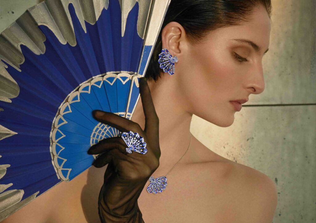 Garrard Fanfare Symphony jewellery collection with hardstones