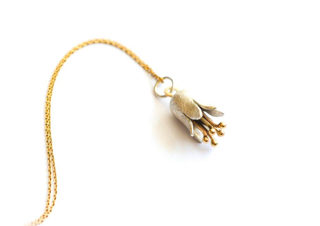 Libby Rak Bluebell pendant at The Jewellery Cut Shop