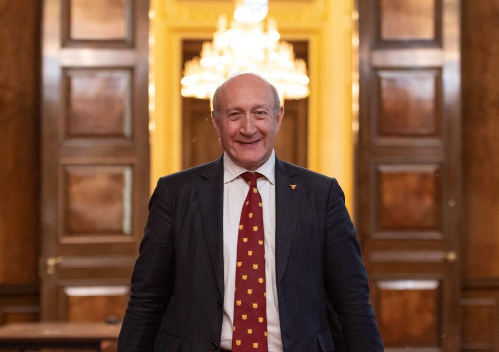 The Goldsmiths' Company Prime Warden Richard Fox