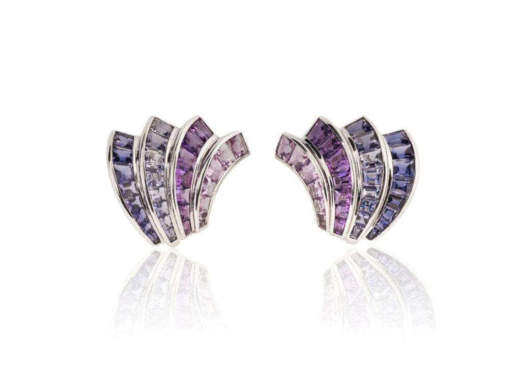 Tiina Smith amethyst earrings