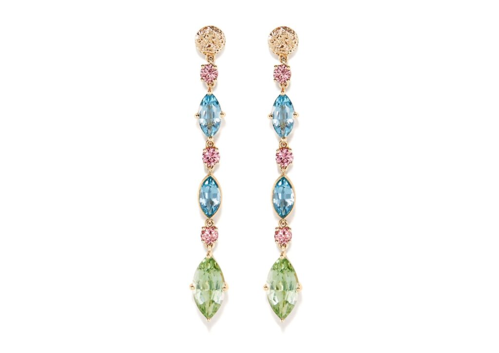 Eva Gems and Jewels aquamarine earrings