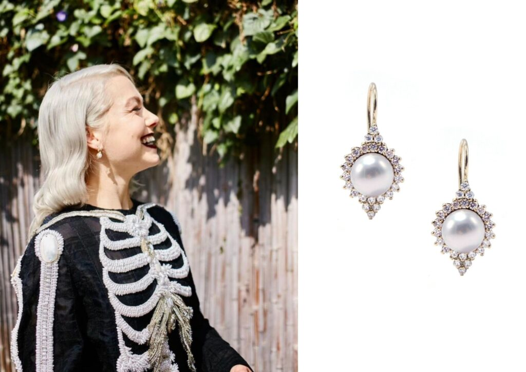 Miranda Lambert in Katherine Jetter jewellery at The Grammys 20201