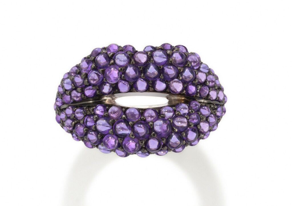 Solange Azagury-Partridge Hot Lips amethyst