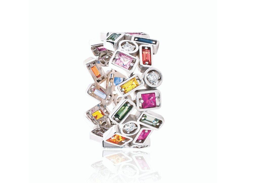 Suzanne Kalan baguette jewellery