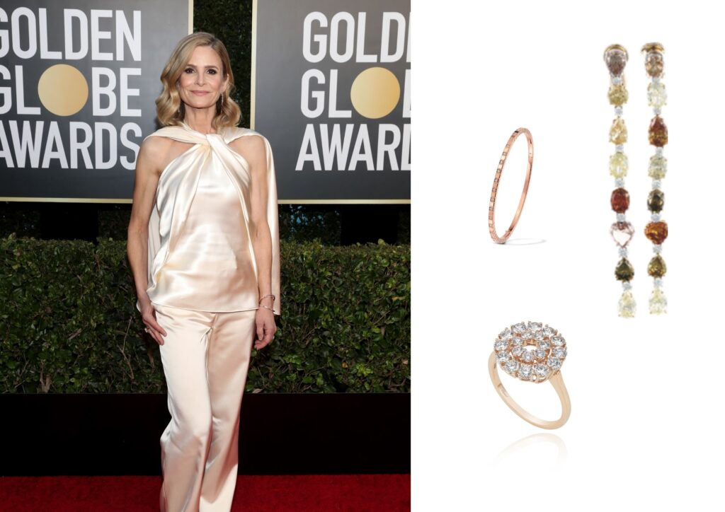 The best jewellery moments at the Golden Globes 2021