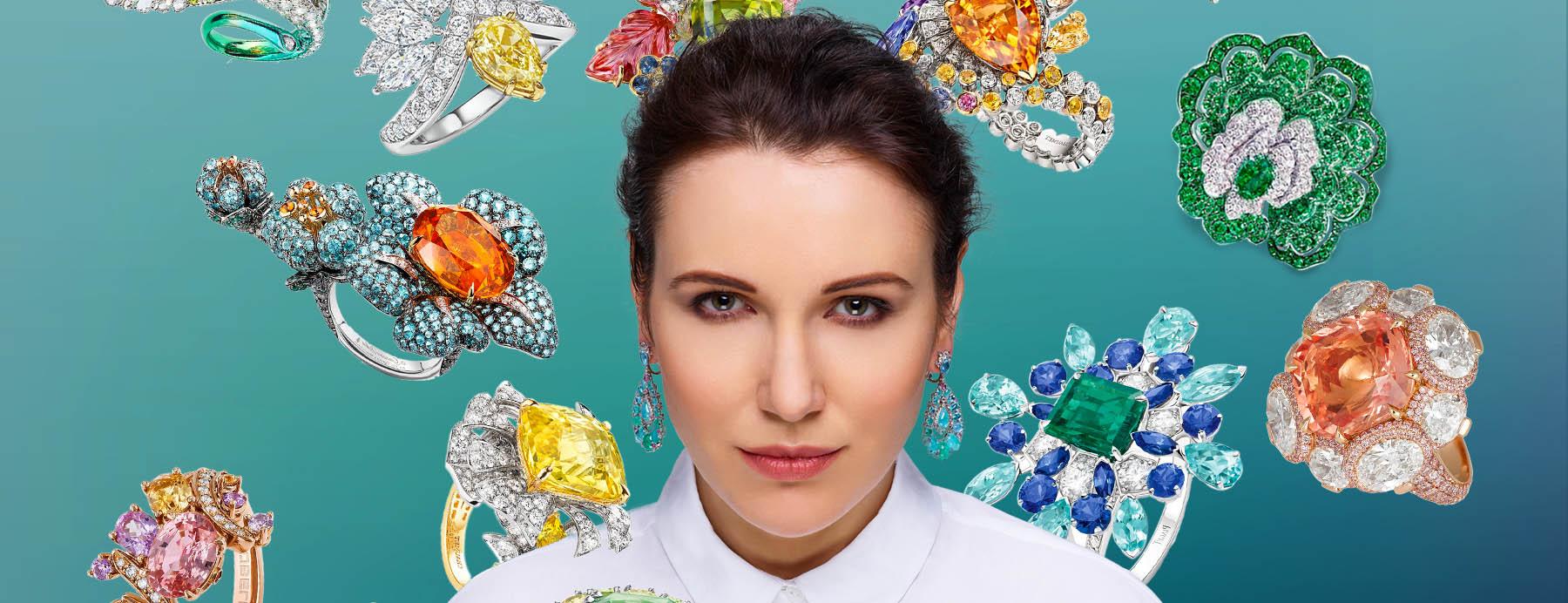 Jewellery influencer Katerina Perez