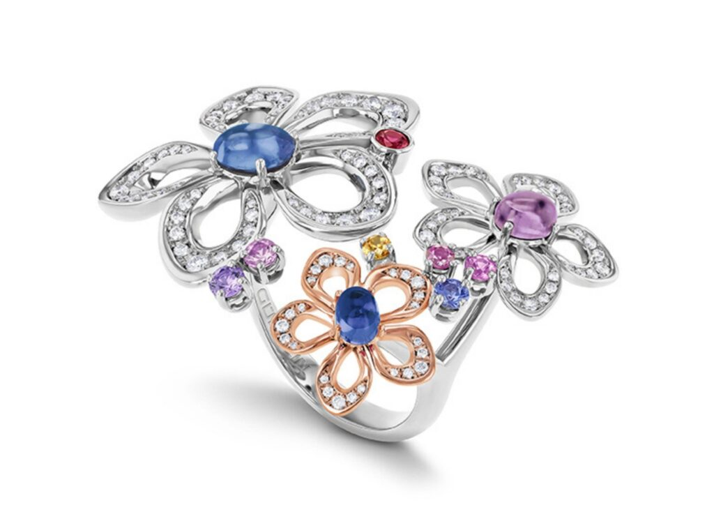 Gübelin Jewellery Lily Dew ring