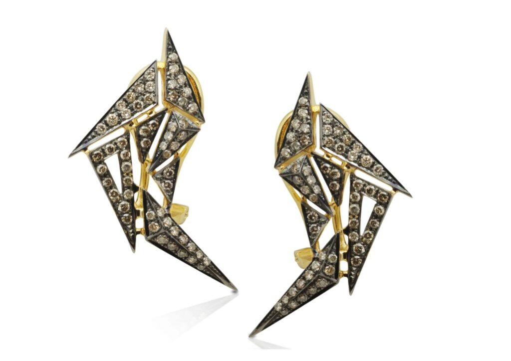 Kavant and Sharart diamond earrings