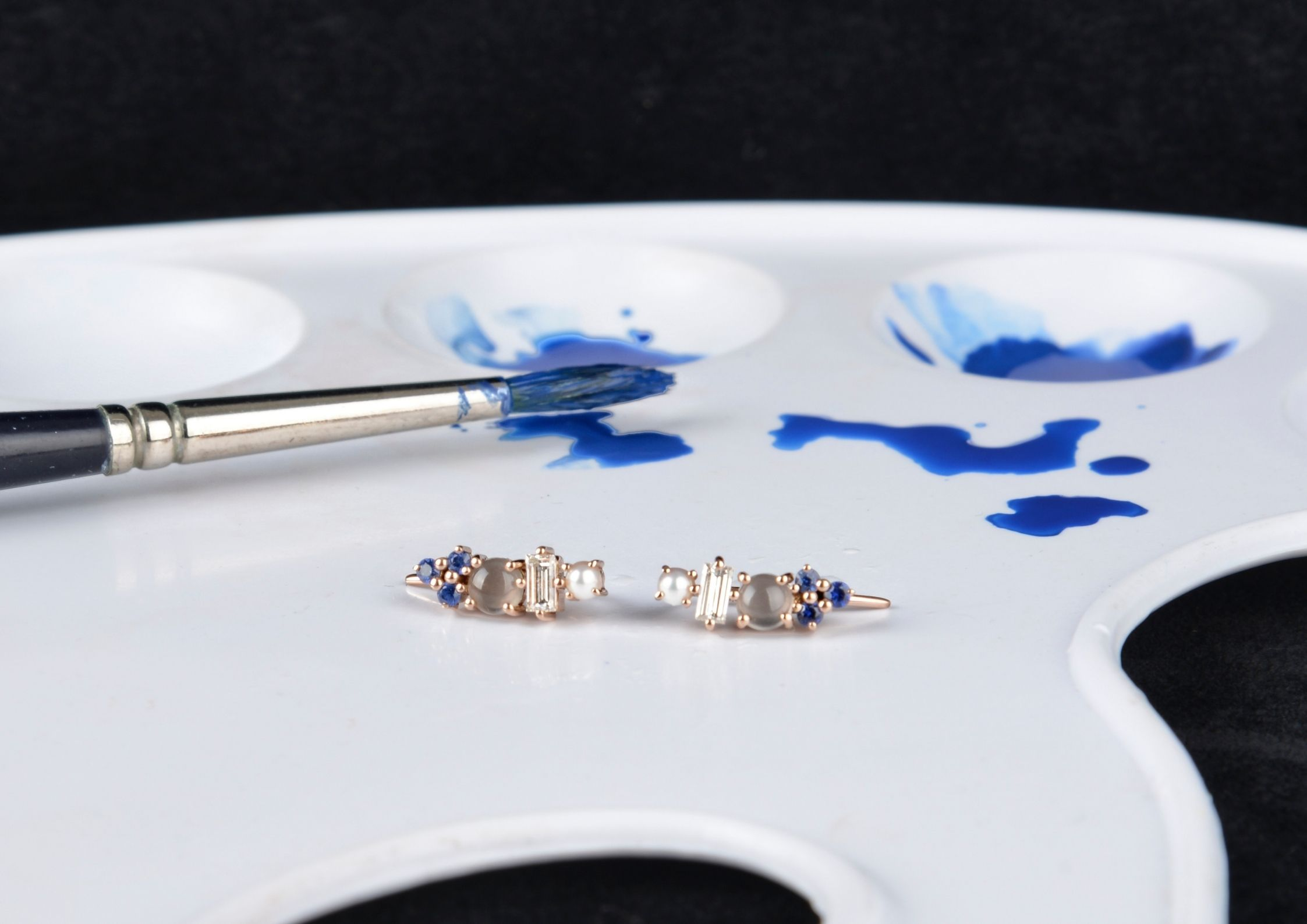 Alexia Gryllaki One-of-a-Stone jewellery collection inspired by art