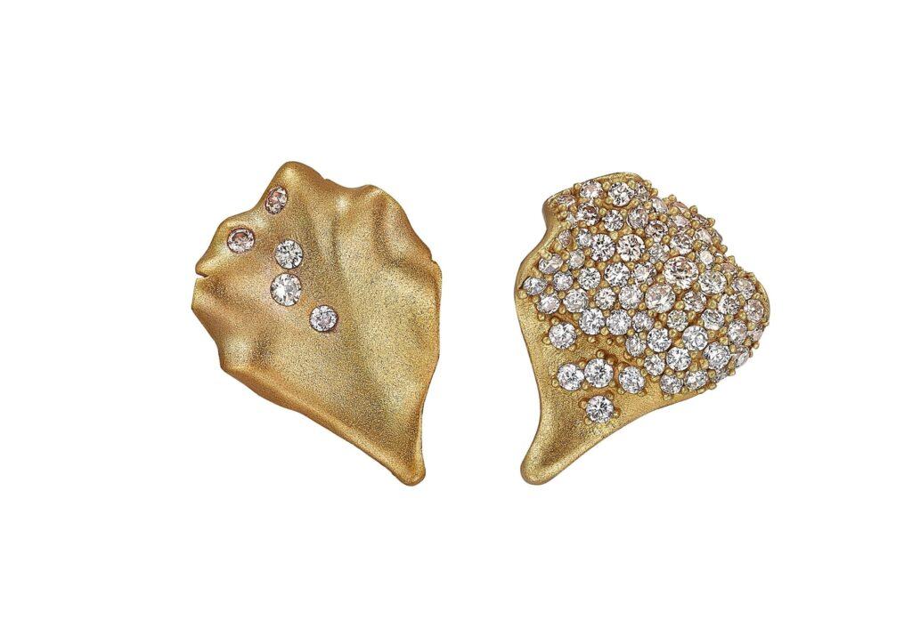 Anabela Chan lab-grown diamond earrings