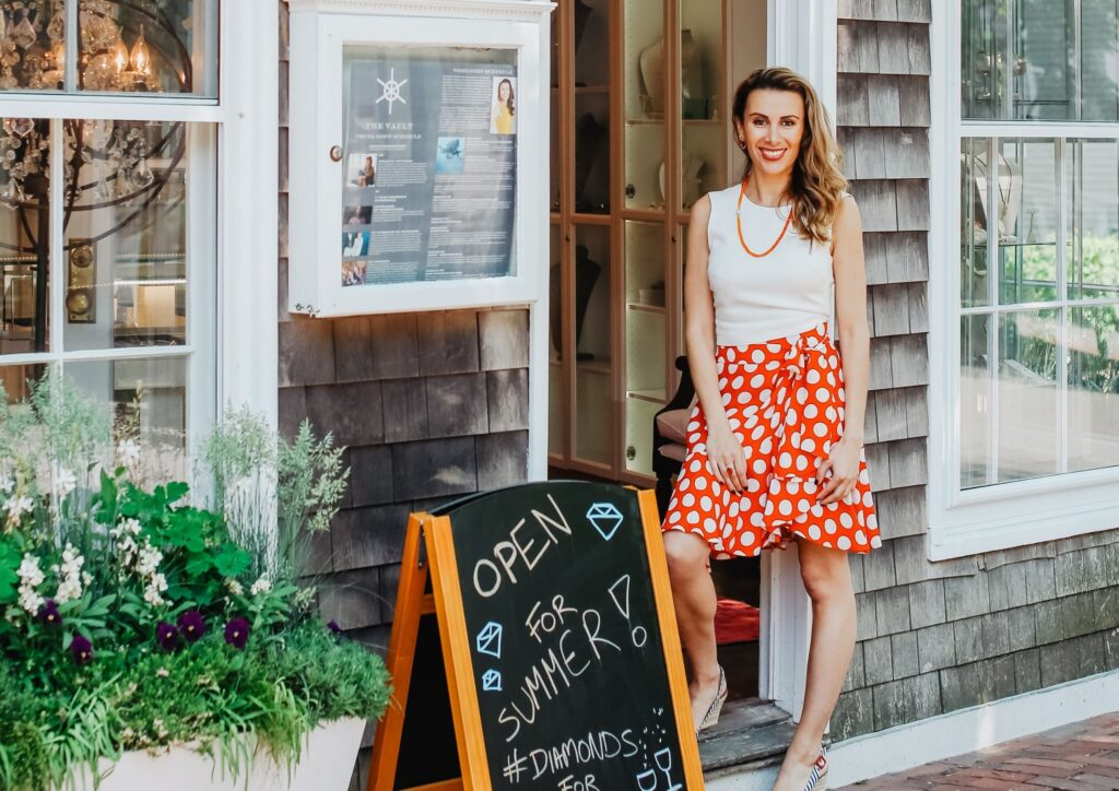 Katherine Jetter, The Vault Nantucket