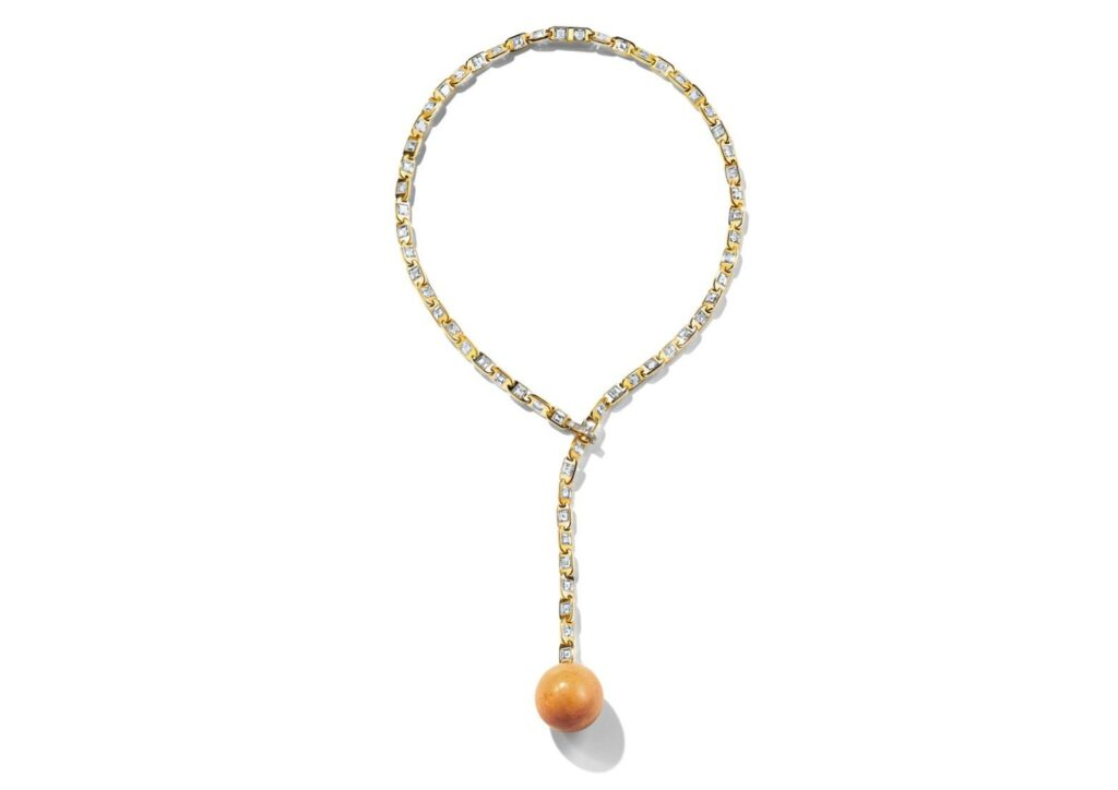 Melo pearl pendant by Tiffany & Co