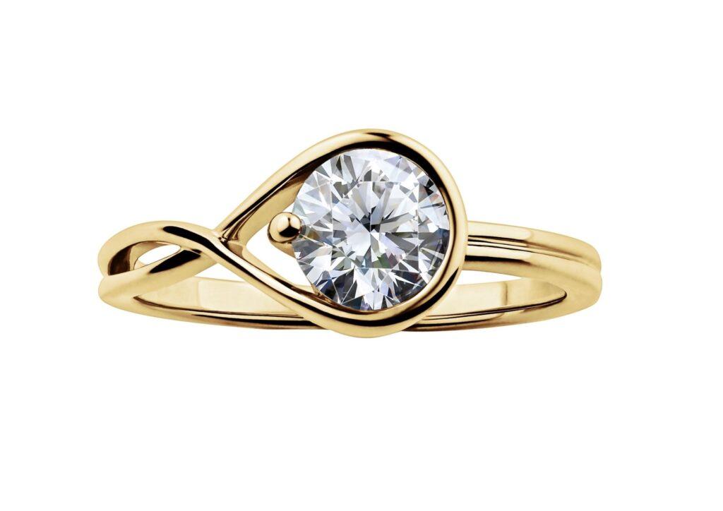 Pandora Brilliance lab-grown diamond ring
