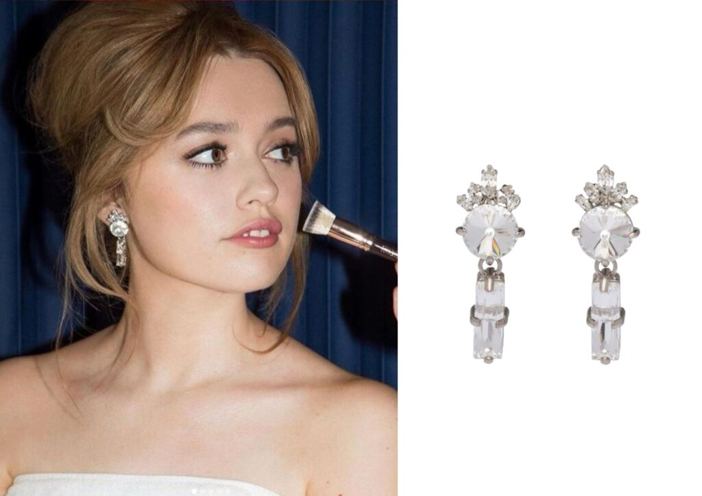 Aimee Lou Wood x Miu Miu_Best jewellery at the Baftas 2021