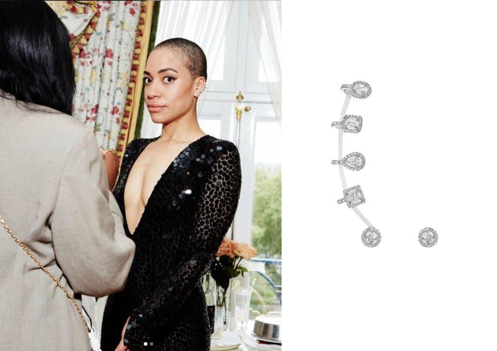 Crush Jumbo x Messika_Best jewellery at the Baftas 2021