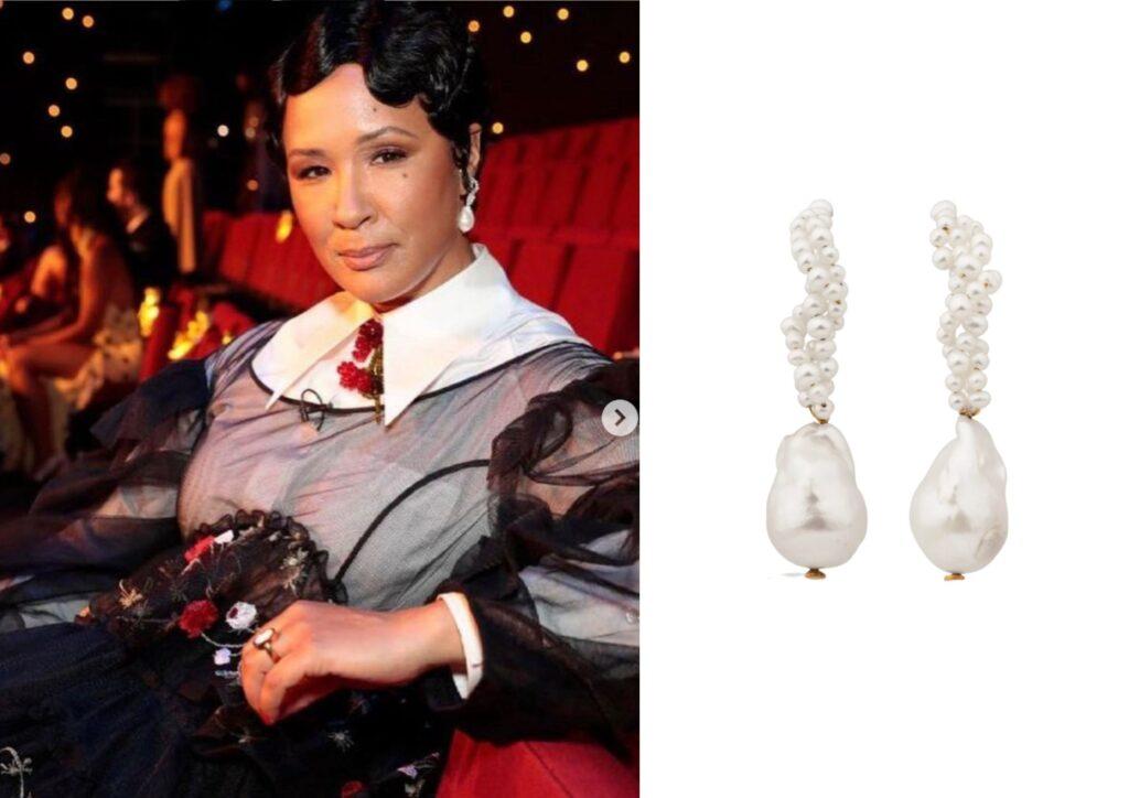 Golda Rosheuvel x Completedworks_Best jewellery at the Baftas 2021