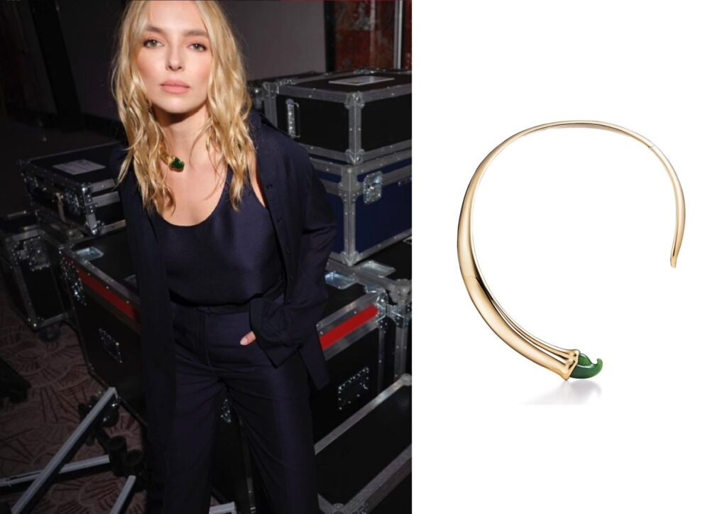 Jodie Comer x Tiffany_Best jewellery at the Baftas 2021