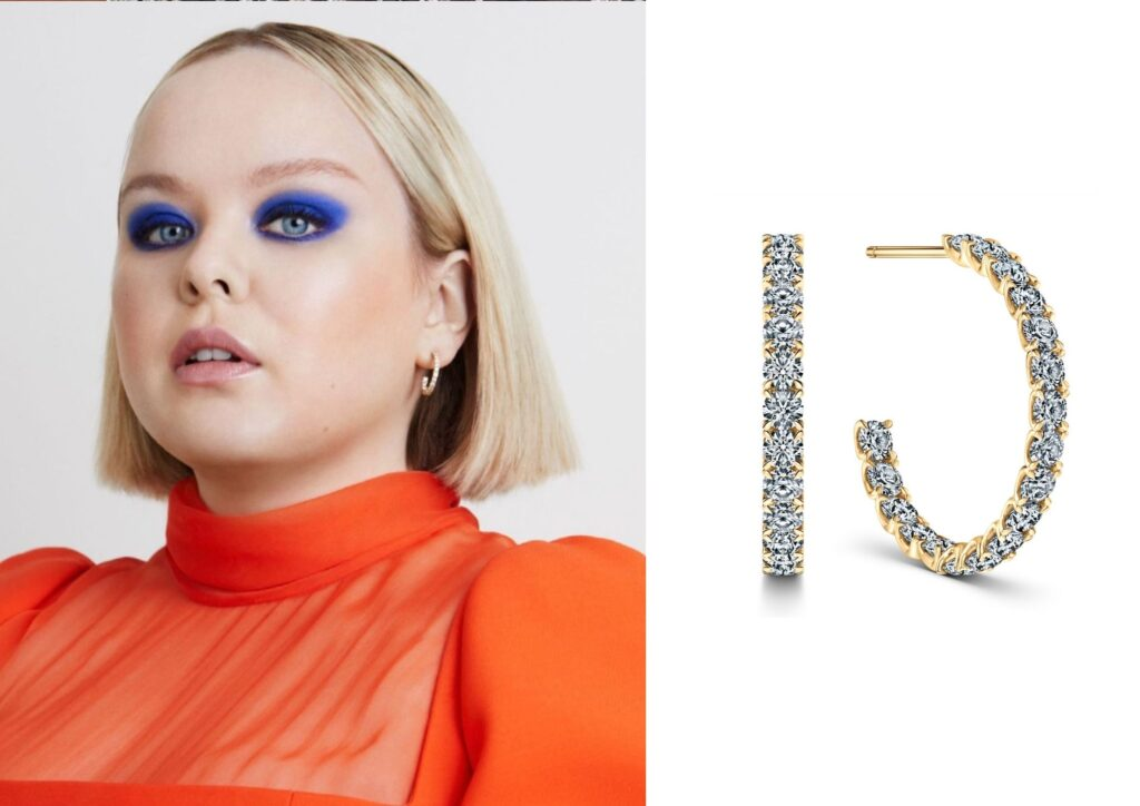 Nicola Coughlan x Vashi_Best jewellery at the Baftas 2021