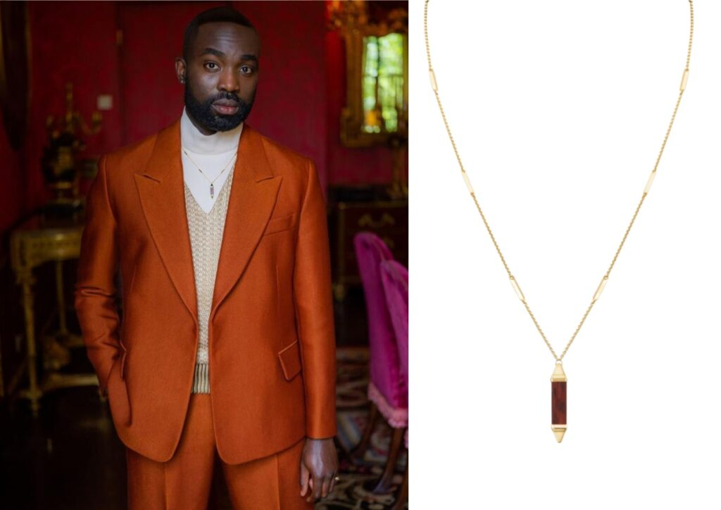 Paapa Essiedu x Cartier_Best jewellery at the Baftas 2021