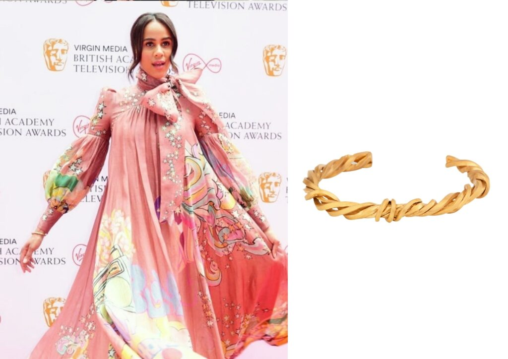 Zawe Ashton x Completedworks_Best jewellery at the Baftas 2021