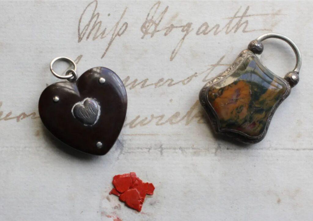 Charles Dickens lockets