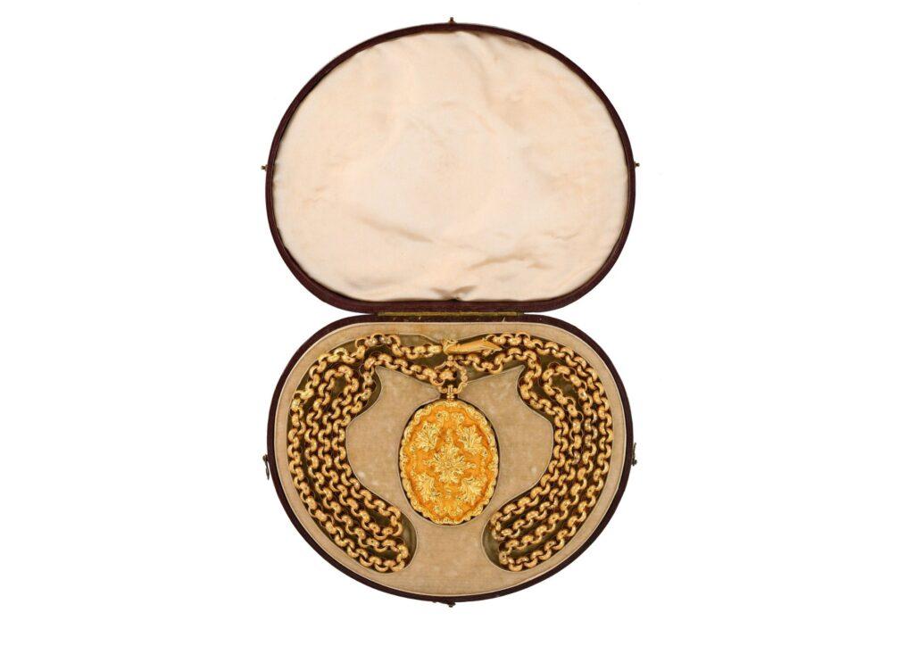 Cheffins antique locket