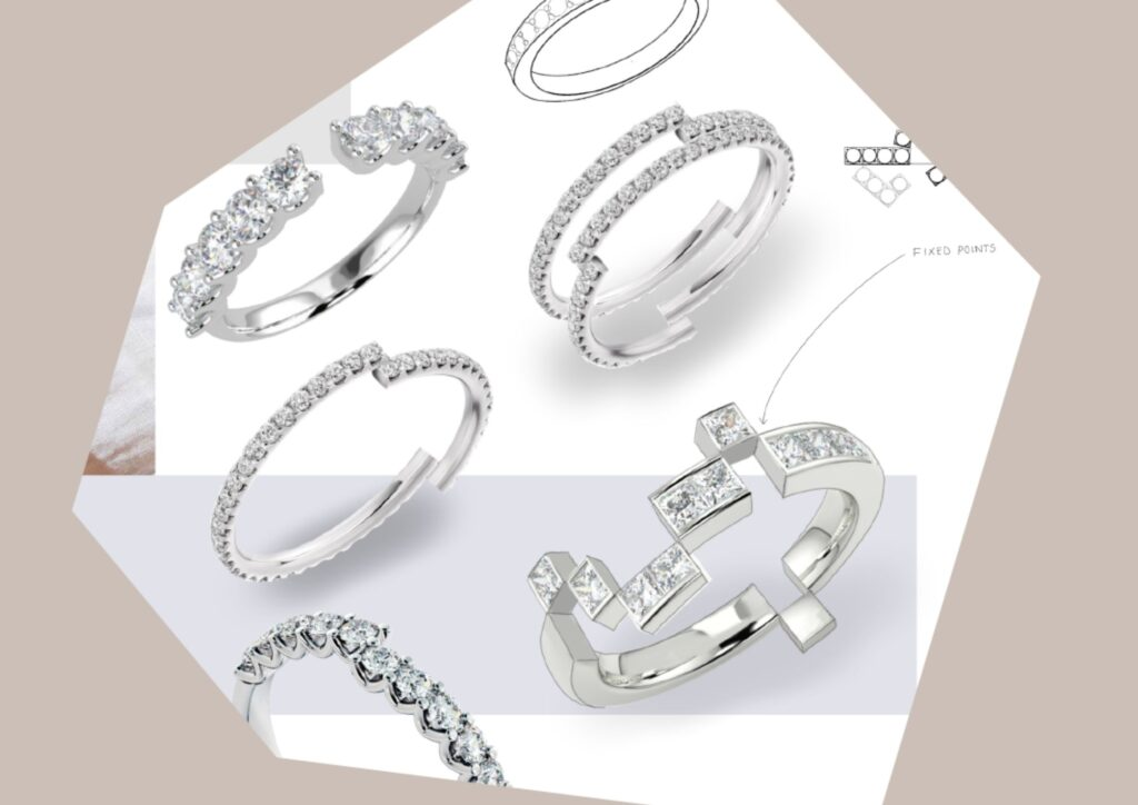 Imogen Burch engagement rings