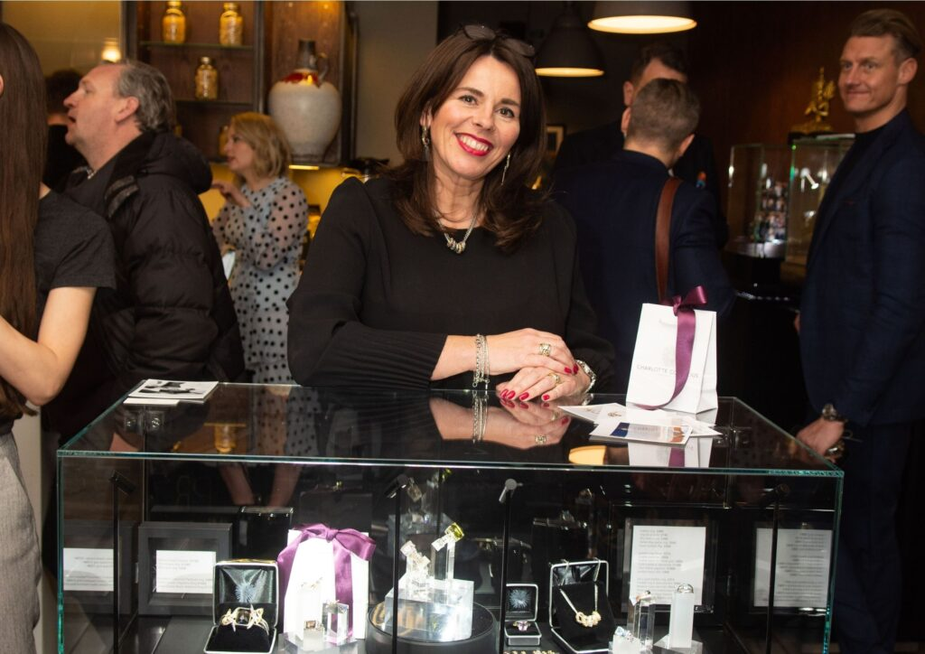 Charlotte Cornelius at The Jewellery Cut Live in February 2019